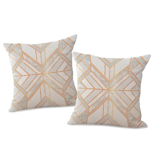 DIAMOND BACK Pillows