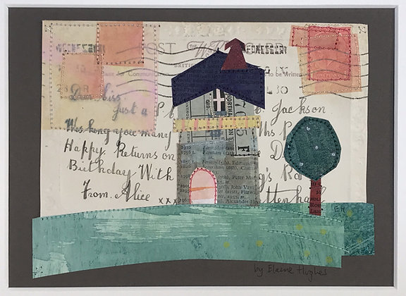 Happy Returns - Altered Postcard