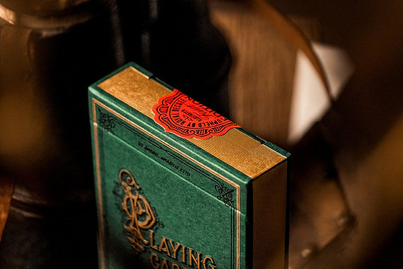 Ex Libris Derren Brown Playing Cards | Theory 11