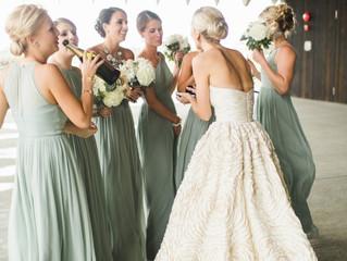 Qué no debes hacer el día de tu boda