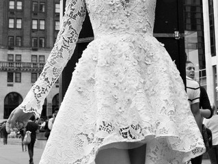 Vestidos de novia cortos, una opción no sólo para el verano.