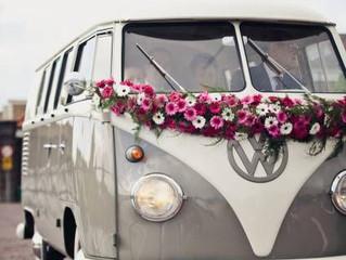 El vehículo perfecto para novios divertidos.