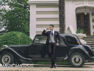 Viaja en el tiempo con los trajes de novio de Ramón Sanjurjo.