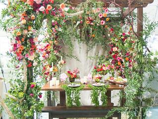 Que tu boda parezca un jardín botánico.