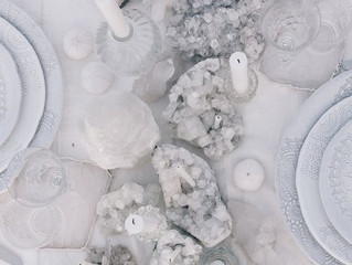 ¿Dirás que sí a decorar tu boda con minerales?
