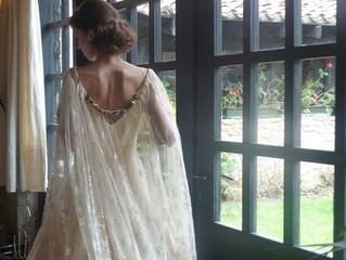Tendencias para 2017: vestidos de novia con capa.