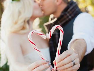 Así se casa la gente en Navidad.