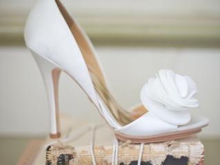 Zapatos de novia que parecen más deliciosos que la tarta