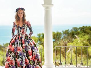 ¿Inspiración sobre vestidos largos? Razón aquí.