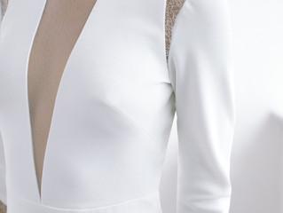 Absolutamente enamorados de estos vestidos para bodas civiles.