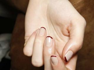 No solo de manicura francesa viven las novias
