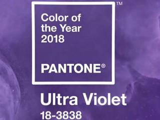 Ultra Violet, el atrevido color de las bodas para 2018.