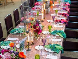 Las nuevas bodas que te harán soñar en color.
