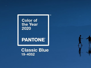Pantone ve el 2020 en azul.