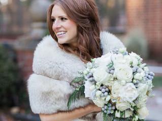 ¿Y por qué no casarse con abrigo?