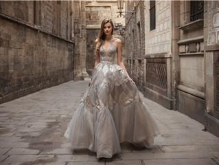 Futurismo y trajes de novia pueden ser una buena pareja.