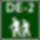 Vandra i Tyskland - Vandra utan packning Tur DE-2