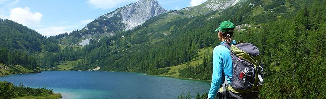 Vandra i Österrike - Vandra utan packning - AT-4 Steirisches Salzkammergut