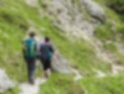Vandra i Österrike - Vandra utan packning - Tur AT-02: Saalachtaler Höjdtur