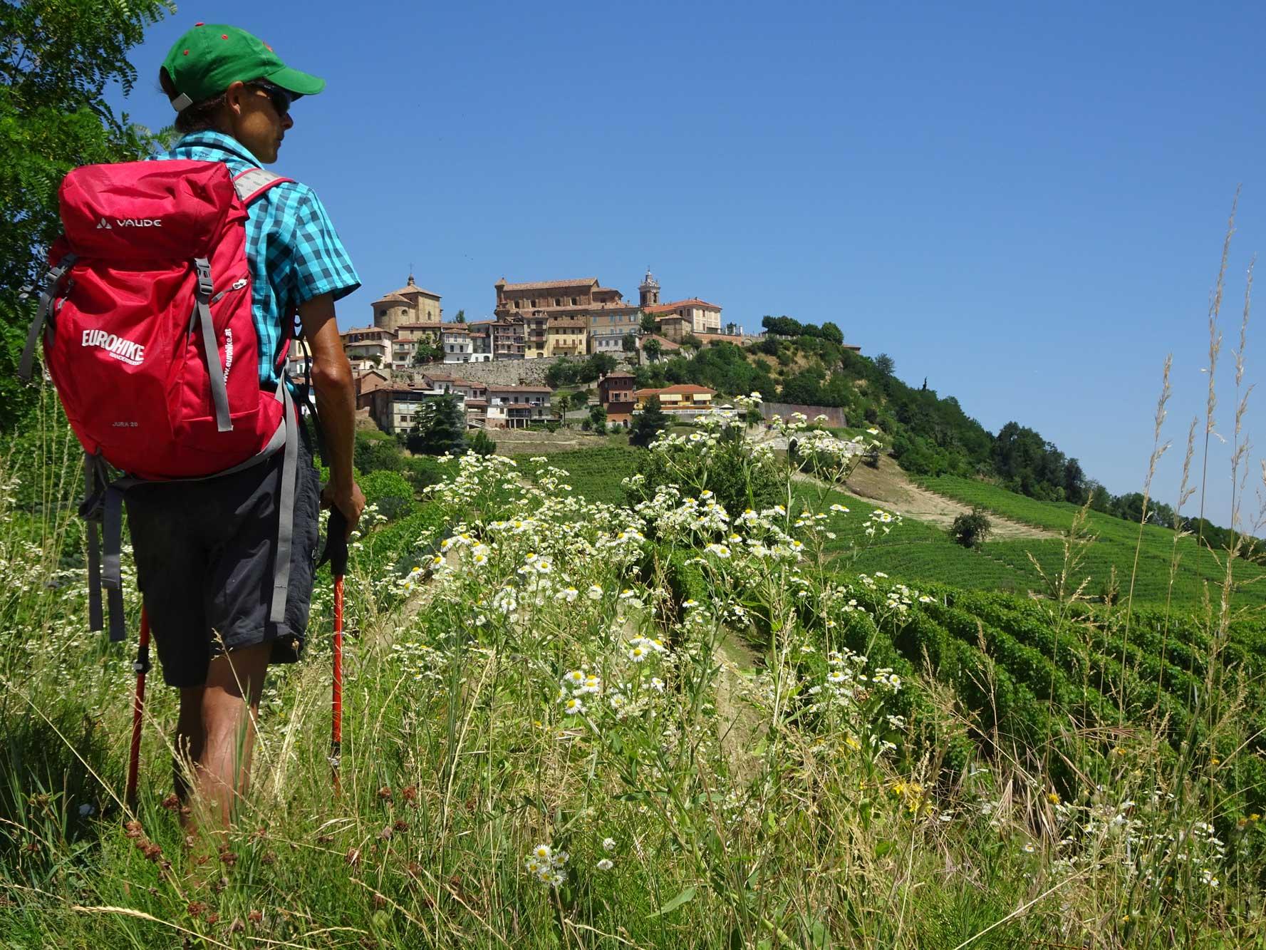 Piemont-Ligurien-Langhe-Wanderer