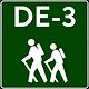 Vandra i Tyskland - Vandra utan packning Tur DE-3