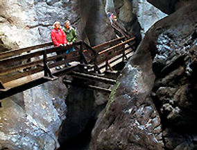 Vandra i Österrike - Vandra utan packning - Tur AT-03b: Ravinernas Tur