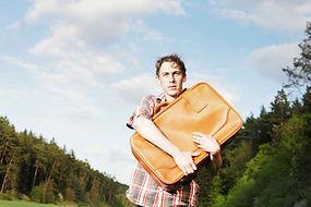 Vandra utan packning - Bagagetranssport
