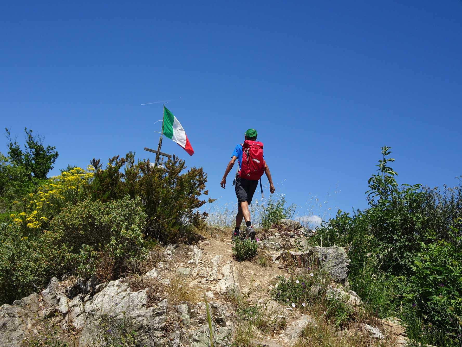 Piemont-Ligurien-Ligurien-Wanderer