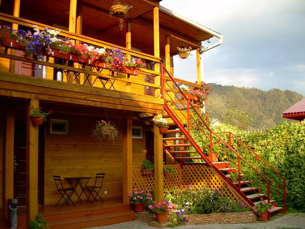 Гостевой дом Ивановский в Чемале