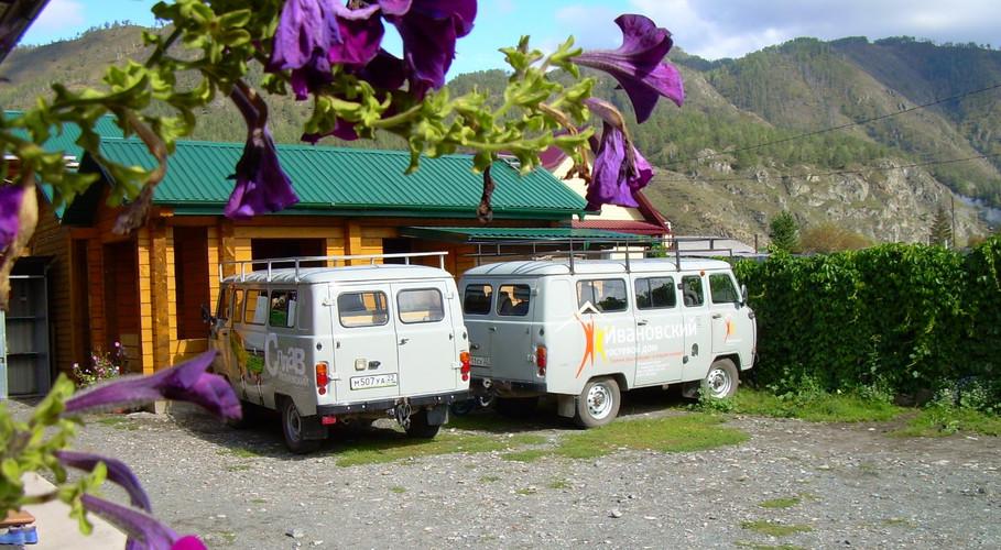 Микроавтобусы Гостевого дома Ивановский