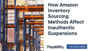 How Amazon Inventory Sourcing Methods Affect Inauthentic Suspensions