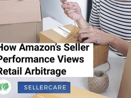 How Amazon's Seller Performance Views Retail Arbitrage