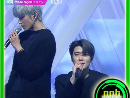 Music Bank Performance: <White Night> | NCT 127