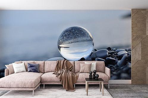 Paysage dans la sphère de verre 2