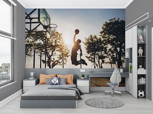 Basket sous le soleil