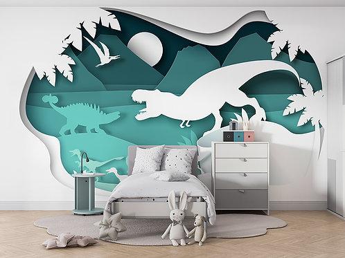 Dinosaure en papier 3