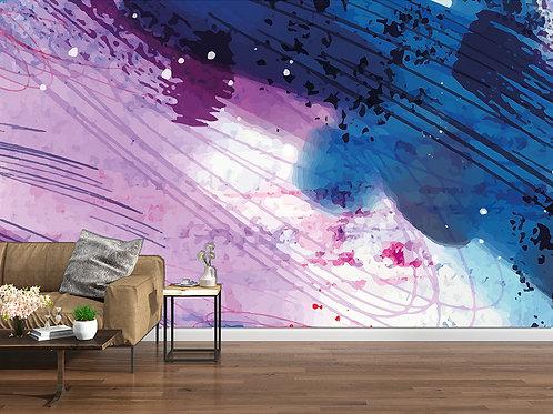 Abstrait violet 1
