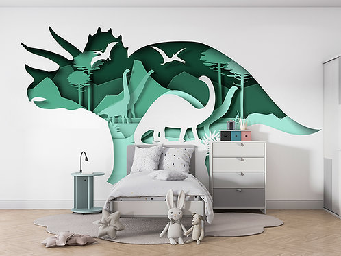 Dinosaure en papier 1