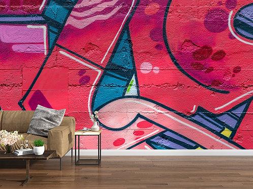 Graffiti en gros plan