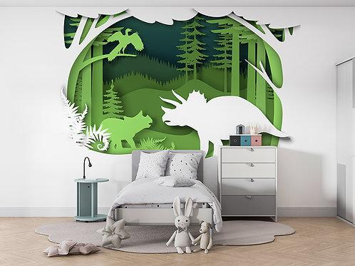 Dinosaure en papier 2
