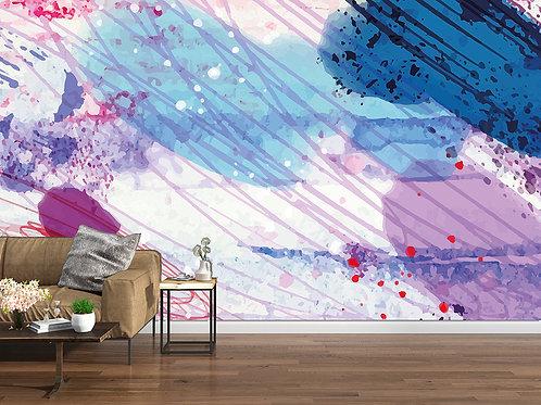 Abstrait violet 3