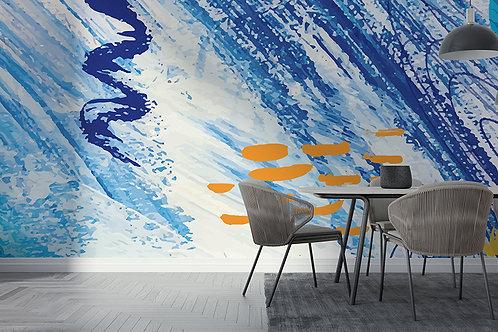 Abstrait Bleu 1
