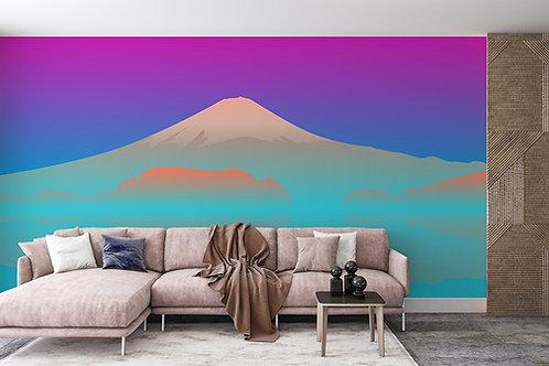 Mont Fuji en dégradé
