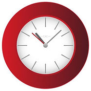 free-red-wall-clock-vector-image-25861.j