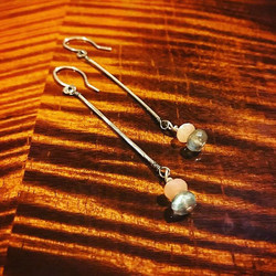 simple string with stones