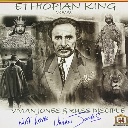 Ethiopian King Vocal - Signed Copy