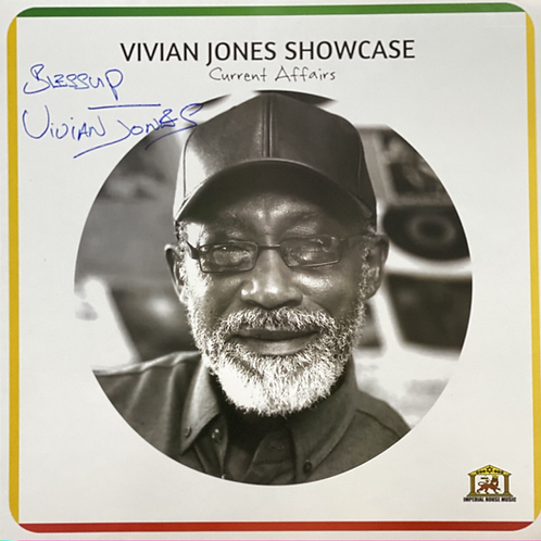 Vivian Jones Showcase – Current Affairs Signed Copy