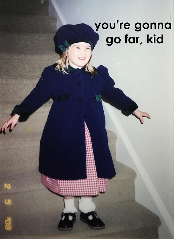 you're gonna go far kid