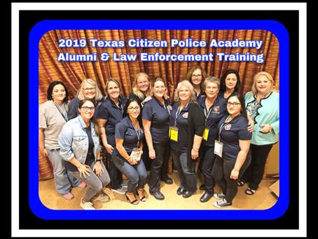 2019 Texas Citizens Police Academy Alumni & Law Enforcement Training