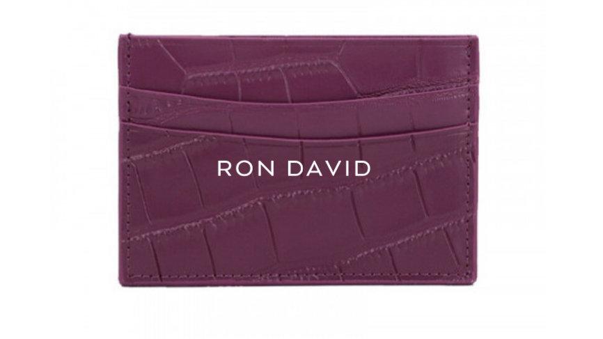 RON DAVID | Credit Card Wallet